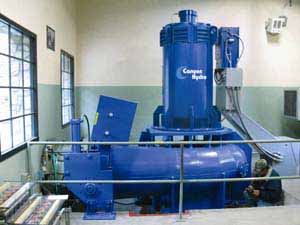 Canyon Hydro Water Turbines